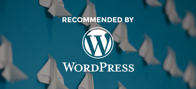 Siteground ha sido recomendado por WordPress!